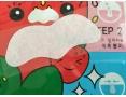 Набор патчей для удаления черных точек Tony Moly  Homeless Strawberry Seeds 3-step Nose Pack