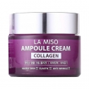 Крем-сыворотка с коллагеном La Miso Ampoule Cream Collagen