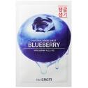 Маска для лица с черникой The Saem Natural Blueberry Mask Sheet
