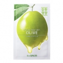 Маска для лица с экстрактом оливы тканевая The Saem Natural Olive Mask Sheet