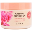 Щербет очищающий The Saem Natural Condition Sorbet Cleanser
