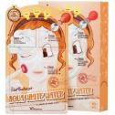 Увлажняющая 3-ступенчатая маска для лица Elizavecca 3-step Aqua White Water Mask Pack