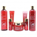 Набор антивозрастных средств с экстрактом граната Deoproce Whitening and Anti-Wrinkle Pomegranate 5 Set