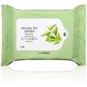 Косметические салфетки с зеленым чаем The Saem Healing Tea Garden Green Tea Cleansing Tissue-20