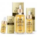 Антивозрастная сыворотка с золотом и стволовыми клетками Jungnani Jnn-II 24K Gold Halo Ampoule