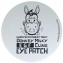 Патчи для кожи вокруг глаз с ослиным молоком Elizavecca Donkey Piggy Milky EGF Сling Eye Patch
