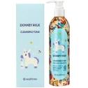 Увлажняющая пенка для умывания с молоком SeaNtree Donkey Milk Waterful Cleansing Foam