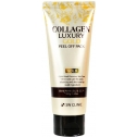Маска-плёнка с коллагеном и золотом 3W Clinic Collagen and Luxury Gold Peel Off Pack