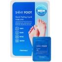 Экспресс-пилинг и крем для ног Tony Moly Shiny Foot Quick Peeling Liquid