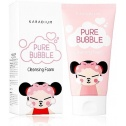 Очищающая пенка Karadium Pure Bubble Cleansing Foam Pucca Edition