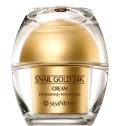 Антивозрастной крем для век с муцином и золотом SeaNtree Snail Gold 24K Eye Cream