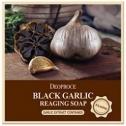 Антивозрастное мыло с экстрактом черного чеснока Deoproce Black Garlic Reaging Soap