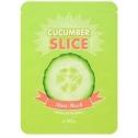 Огуречные маски-слайсы A'Pieu Cucumber Slice Sheet Mask