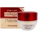 Крем – лифтинг для кожи вокруг глаз с коллагеном 3W Clinic Collagen Lifting Eye Cream
