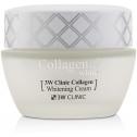Осветляющий крем для лица с коллагеном 3W Clinic Collagen Whitening Cream