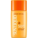 Солнцезащитный крем Nature Republic California Aloe Sun Liquid SPF50+ PA++++