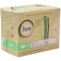 Дневные гигиенические прокладки с добавлением бамбукового угля Pure Bamboo Day
