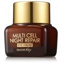Восстанавливающий крем для век Secret Key Multi Cell Night Repair Eye Cream