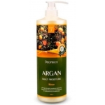 Бальзам для волос с маслом арганы Deoproce Rinse Argan Silky Moisture