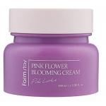 Крем для лица с экстрактом лотоса Farmstay Pink Flower Blooming Cream Pink lotus