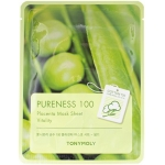 Тканевая маска для лица плацентарная Tony Moly Pureness 100 Placenta Mask Sheet