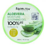 Алоэ-гель для тела FarmStay Aloevera Moisture Soothing Gel