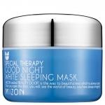Успокаивающая, отбеливающая ночная маска Mizon Good Night White Sleeping Mask 80ml