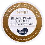 Гидрогелевые патчи для глаз Petitfee Black Pearl and Gold Hydrogel Eye Patch