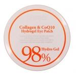 Гидрогелевые патчи для глаз Petitfee 98% Collagen and CoQ10 Hydro Gel Eye Patch