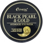 Гидрогелевые  патчи для глаз Esthetic House Black Pearl And Gold Hygrogel Eyepatch