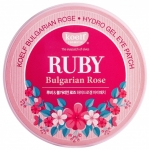 Гелевые патчи для глаз Koelf Hydro Gel Ruby & Bulgarian Rose Eye Patch
