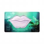 Гидрогелевый патч для губ с морским коллагеном Nature Republic Aqua Collagen Solution Marine Hydrogel Lip Patch