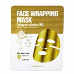 Коллагеновая маска Berrisom Face Wrapping Mask Collagen Solution 80