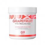 Ватные диски с эффектом пилинга G9Skin Grapefruit Vita Peeling Pad