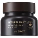 Кофейная маска-скраб для жирной кожи The Saem Natural Daily Original Coffee Mask