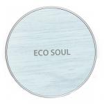 Тональное покрытие – кушон охлаждающий The Saem Eco Soul Power Proof Cooling BB Cushion