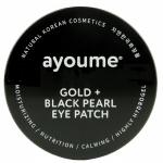 Патчи для глаз с золотом и черным жемчугом Ayoume Gold and Black Pearl Eye Patch