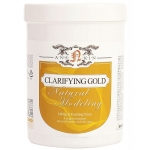 Очищающая альгинатная маска с золотом с подтягивающим эффектом Anskin Natural Clarifying Gold Modeling Mask