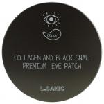 Гидрогелевые патчи для глаз с муцином и коллагеном L'Sanic Collagen and Black Snail Premium Eye Patch