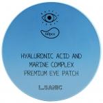 Гидрогелевые патчи для глаз с гиалуроновой кислотой и экстрактом водорослей L'Sanic Hyaluronic Acid аnd Marine Complex Premium Eye Patch