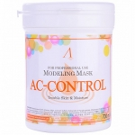 Альгинатная маска против акне Anskin AC Control Modeling Mask Container