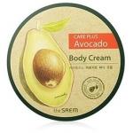 Крем для тела The Saem Care Plus Avocado Body Cream