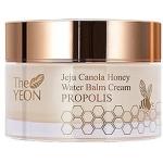 Увлажняющий крем-бальзам с прополисом и медом The Yeon Jeju Canola Honey Water Balm Cream Propolis