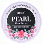 Гелевые патчи для глаз Koelf Hydro Gel Pearl and Shea Butter Eye Patch