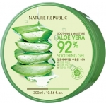 Мультифункциональное средство Nature Republic Soothing and Moisture Aloe Vera 92% Soothing Gel