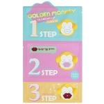 Комплекс для ухода за кожей губ Holika Holika Golden Monkey Glamour Lip 3-Step Kit