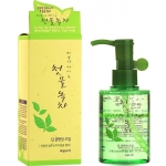 Гидрофильное масло Welcos Green Tea Deep Cleansing Oil
