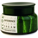 Крем с экстрактом алоэ Farmstay Visible Difference Fresh Cream Aloe