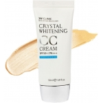 Маскирующий СС-крем 3W Clinic Crystal Whitening CC Cream SPF50 PA