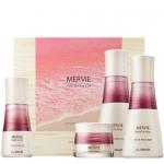Набор для антивозрастного ухода с красным планктоном The Saem Mervie Hydra Skin Care 3 Set